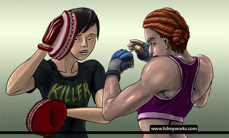 Character Boxing Workout