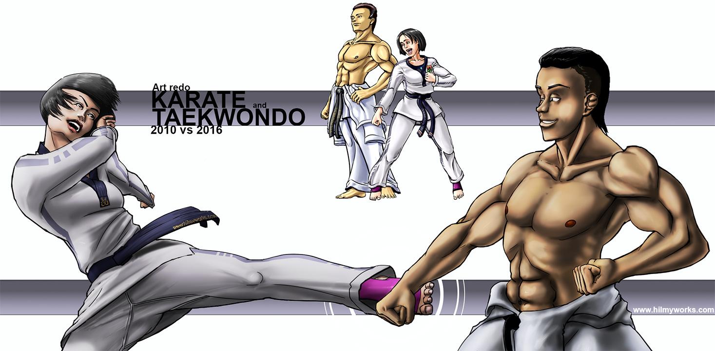 2010-2016-Karateka-Taekwondo