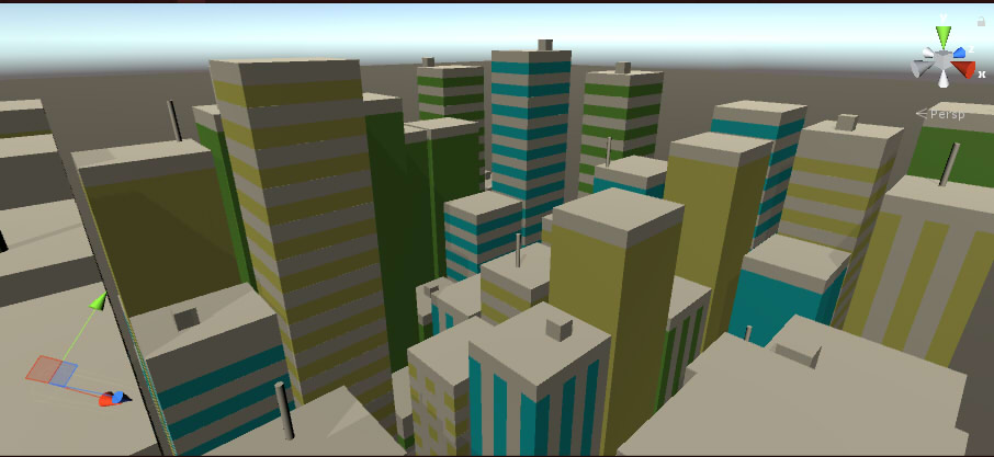 Hilmyworks' Procedural City Generation on December 4th, 2017