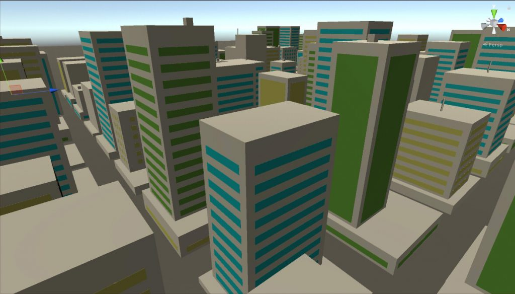 Hilmyworks' Procedural City Generation on January 8th, 2018