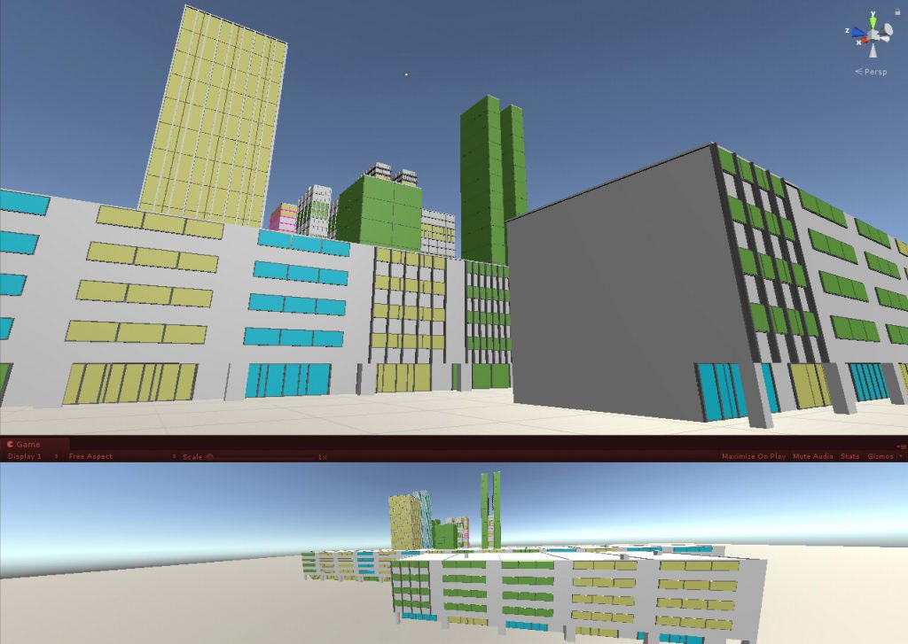 Hilmyworks' Procedural City Generation on June 2nd, 2018