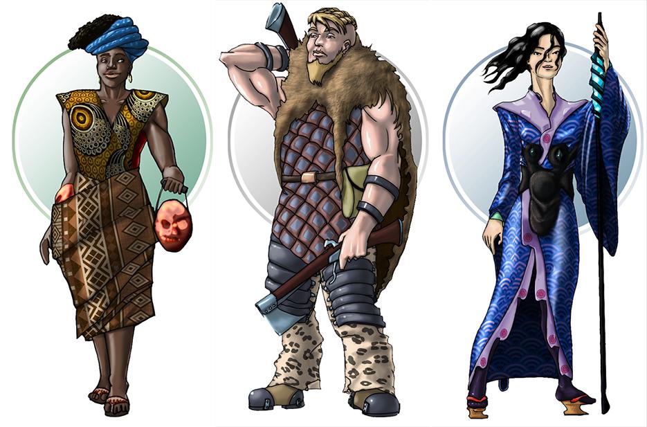 Hilmyworks character design