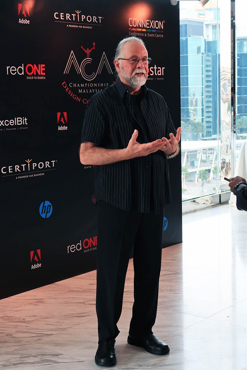 Bert Monroy at SEA Connect 2017
