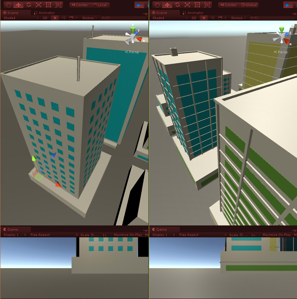 Hilmyworks' Procedural City Generation on January 12th 2018